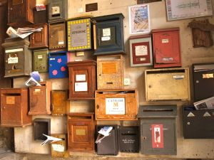 Marseille letterboxes